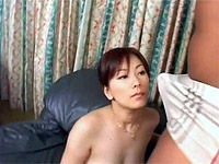 Cute honey gets her g-spot packed with fellow rod on the couch